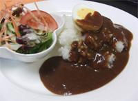 朝カレー セット(ハーフカレー&サラダ)